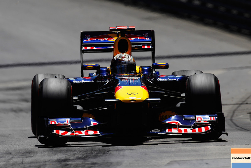 GEPA-29051199031 - FORMULA 1 - Grand Prix of Monaco. Image shows Sebastian Vettel (GER/ Red Bull Racing). Photo: Mark Thompson/ Getty Images - For editorial use only. Image is free of charge