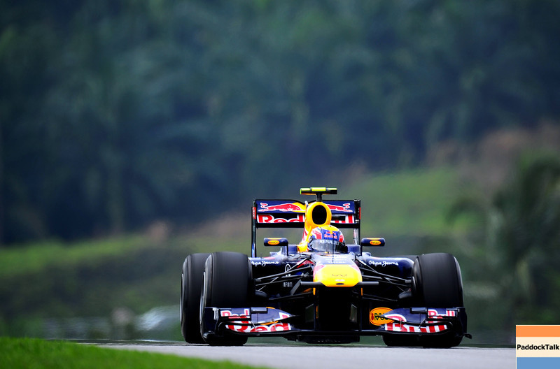 GEPA-09041199003 - FORMULA 1 - Grand Prix of Malaysia, Sepang Circuit. Image shows Mark Webber (AUS/ Red Bull Racing). Photo: Getty Images/ Clive Mason - For editorial use only. Image is free of charge