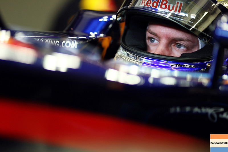 GEPA-12021199019 - FORMULA 1 - Testing in Jerez. Image shows Sebastian Vettel (GER/ Red Bull Racing). Photo: Paul Gilham/ Getty Images - For editorial use only. Image is free of charge