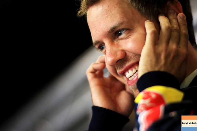 GEPA-20051199007 - FORMULA 1 - Grand Prix of Spain. Image shows Sebastian Vettel (GER/ Red Bull Racing). Photo: Vladimir Rys/ Getty Images - For editorial use only. Image is free of charge