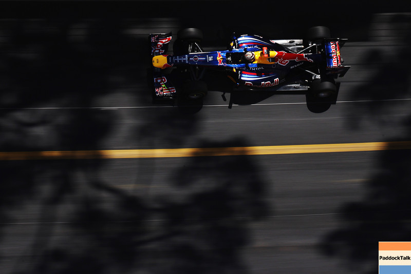 GEPA-26051199003 - FORMULA 1 - Grand Prix of Monaco. Image shows Sebastian Vettel (GER/ Red Bull Racing). Photo: Mark Thompson/ Getty Images - For editorial use only. Image is free of charge