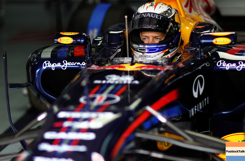 GEPA-08041199016 - FORMULA 1 - Grand Prix of Malaysia, Sepang Circuit. Image shows Sebastian Vettel (GER/ Red Bull Racing). Photo: Getty Images/ Paul Gilham - For editorial use only. Image is free of charge
