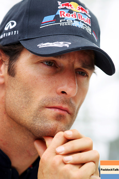 GEPA-09061199001 - FORMULA 1 - Grand Prix of Canada. Image shows Mark Webber (AUS/ Red Bull Racing). Keyword: interview. Photo: Clive Rose/ Getty Images - For editorial use only. Image is free of charge