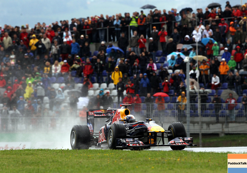GEPA-15051181064 - SPIELBERG,AUSTRIA,15.MAY.11 - MOTORSPORT, FORMULA 1 - Open House Day Red Bull Ring, project Spielberg. Image shows Sebastian Vettel (GER/ Red Bull Racing). Photo: GEPA pictures/ Christian Walgram - For editorial use only. Image is free of charge.