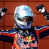 GEPA-08051199013 - FORMULA 1 - Grand Prix of Turkey. Image shows the rejoicing of Sebastian Vettel (GER/ Red Bull Racing). Photo: Mark Thompson/ Getty Images - For editorial use only. Image is free of charge