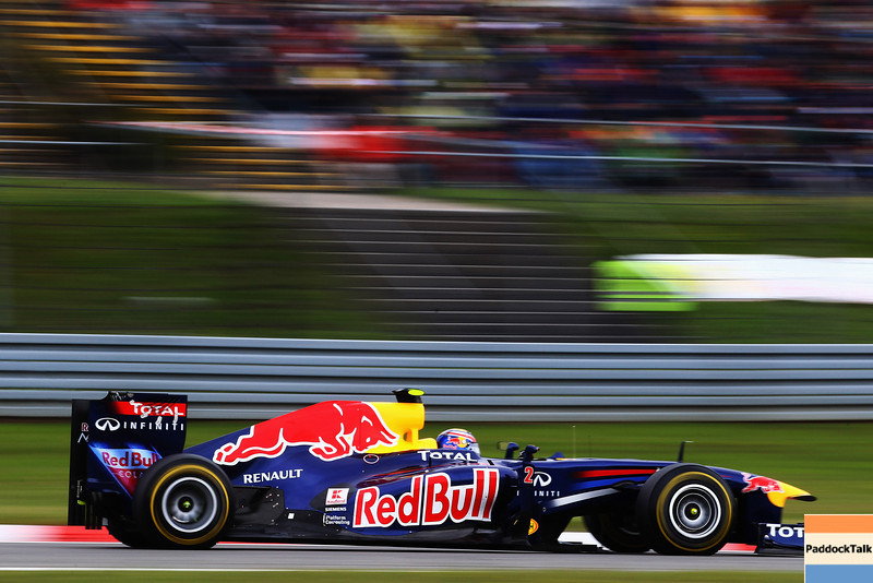 GEPA-24071199006 - FORMULA 1 - Grand Prix of Germany, Nuerburgring. Image shows Mark Webber (AUS/ Red Bull Racing). Photo: Getty Images/ Julian Finney - For editorial use only. Image is free of charge