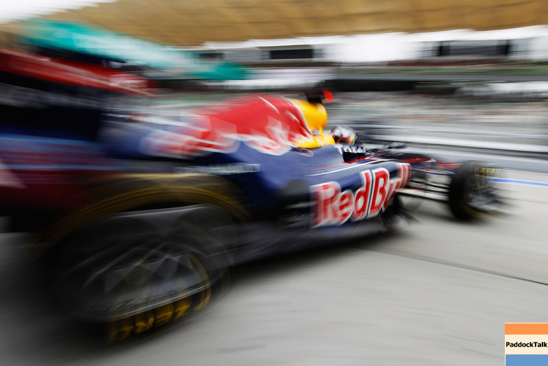 GEPA-09041199015 - FORMULA 1 - Grand Prix of Malaysia, Sepang Circuit. Image shows Sebastian Vettel (GER/ Red Bull Racing). Photo: Getty Images/ Mark Thompson - For editorial use only. Image is free of charge