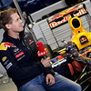 GEPA-14051181101 - SPIELBERG,AUSTRIA,14.MAY.11 - MOTORSPORT, FORMULA 1 - Media Day Red Bull Ring, project Spielberg. Image shows Sebastian Vettel (GER/ Red Bull Racing). Keywords: Interview. Photo: GEPA pictures/ Christian Walgram - For editorial use only. Image is free of charge.