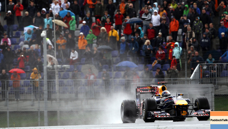 GEPA-15051181065 - SPIELBERG,AUSTRIA,15.MAY.11 - MOTORSPORT, FORMULA 1 - Open House Day Red Bull Ring, project Spielberg. Image shows Sebastian Vettel (GER/ Red Bull Racing). Photo: GEPA pictures/ Christian Walgram - For editorial use only. Image is free of charge.