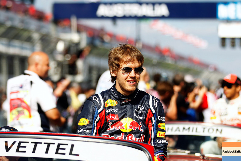 GEPA-27031199008 - FORMULA 1 - Grand Prix of Australia. Image shows Sebastian Vettel (GER/ Red Bull Racing). Photo: Getty Images/ Mark Thompson - For editorial use only. Image is free of charge