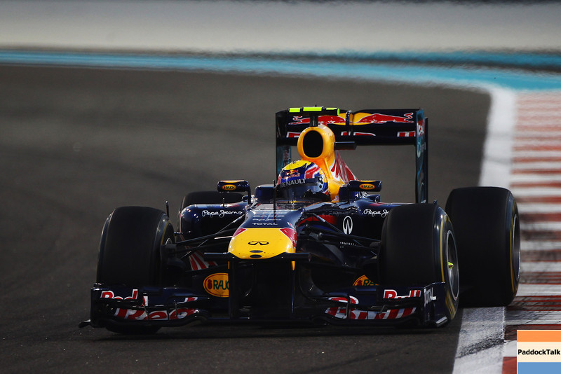 GEPA-13111199018 - FORMULA 1 - Grand Prix of Abu Dhabi, Yas Marina Circuit. Image shows Mark Webber (AUS/ Red Bull Racing). Photo: Getty Images/ Clive Mason - For editorial use only. Image is free of charge