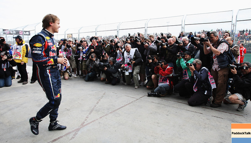 GEPA-26031199017 - FORMULA 1 - Grand Prix of Australia. Image shows Sebastian Vettel (GER/ Red Bull Racing). Photo: Getty Images/ Ker Robertson - For editorial use only. Image is free of charge