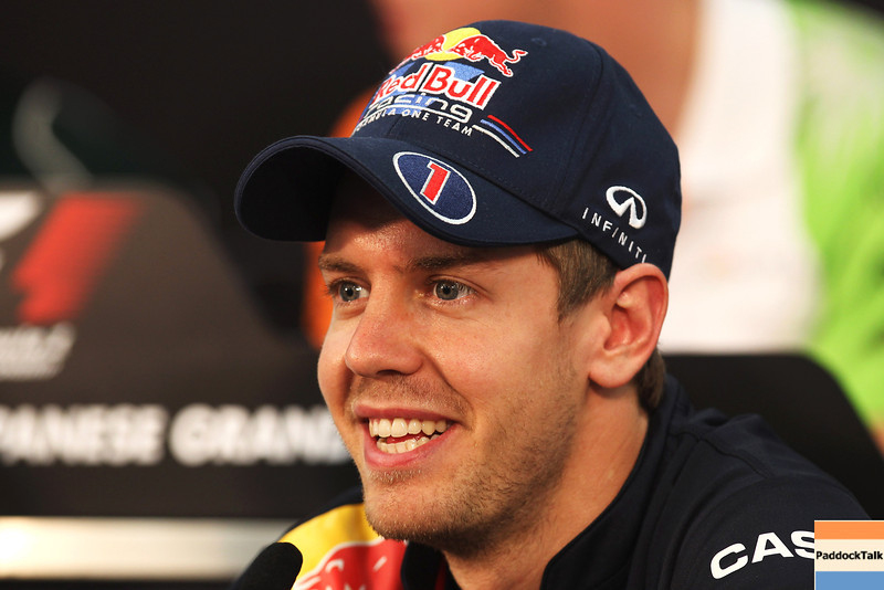 GEPA-06101199003 - FORMULA 1 - Grand Prix of Japan, preview. Image shows Sebastian Vettel (GER/ Red Bull Racing). Photo: Getty Images/ Clive Rose - For editorial use only. Image is free of charge