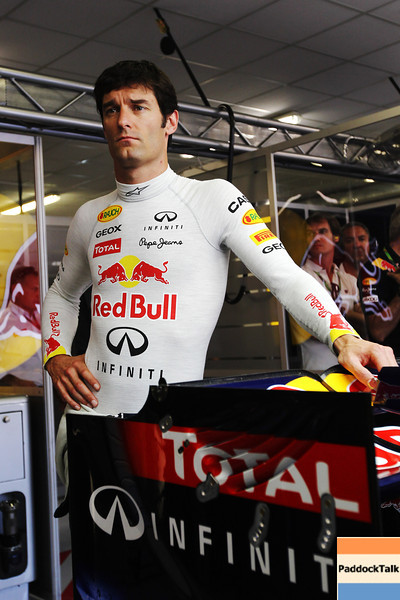 GEPA-25061199015 - FORMULA 1 - Grand Prix of Europe. Image shows Mark Webber (AUS/ Red Bull Racing). Photo: Clive Rose/ Getty Images - For editorial use only. Image is free of charge
