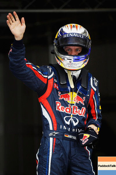 GEPA-16041199018 - FORMULA 1 - Grand Prix of China. Image shows Sebastian Vettel (GER/ Red Bull Racing). Photo: Getty Images/ Mark Thompson - For editorial use only. Image is free of charge
