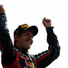 GEPA-11091199009 - FORMULA 1 - Grand Prix of Italy. Image shows Sebastian Vettel (GER/ Red Bull Racing). Keywords: podium, award ceremony. Photo: Getty Images/ Vladimir Rys - For editorial use only. Image is free of charge