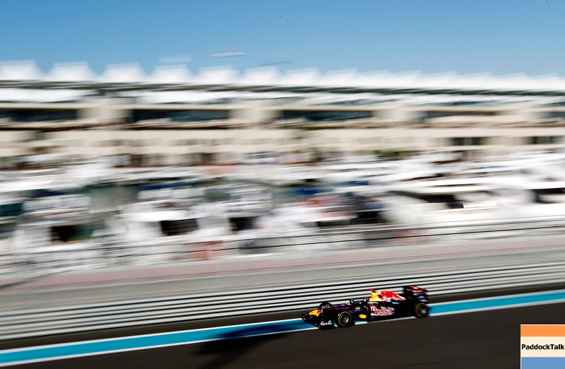 GEPA-11111199009 - FORMULA 1 - Grand Prix of Abu Dhabi, Yas Marina Circuit. Image shows Sebastian Vettel (GER/ Red Bull Racing). Photo: Getty Images/ Paul Gilham - For editorial use only. Image is free of charge