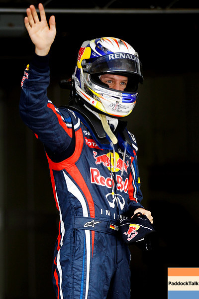 GEPA-16041199017 - FORMULA 1 - Grand Prix of China. Image shows Sebastian Vettel (GER/ Red Bull Racing). Photo: Getty Images/ Mark Thompson - For editorial use only. Image is free of charge