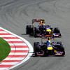 GEPA-08051199005 - FORMULA 1 - Grand Prix of Turkey. Image shows Sebastian Vettel (GER) and Mark Webber (AUS/ Red Bull Racing). Photo: Mark Thompson/ Getty Images - For editorial use only. Image is free of charge