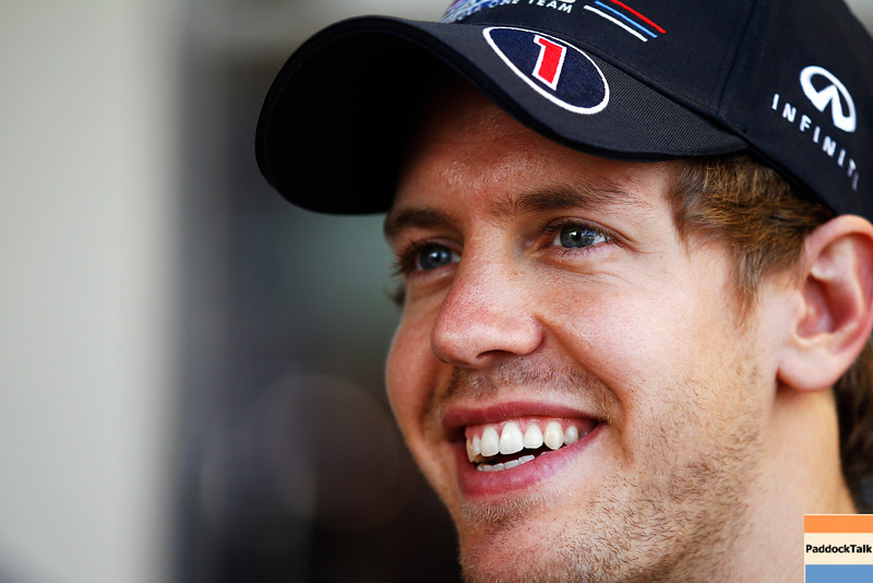 GEPA-10111199002 - FORMULA 1 - Grand Prix of Abu Dhabi, Yas Marina Circuit. Image shows Sebastian Vettel (GER/ Red Bull Racing). Photo: Getty Images/ Paul Gilham - For editorial use only. Image is free of charge