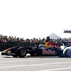 GEPA-04061199902 - FORMULA 1 - Big Beach Festival 2011,  Red Bull Showrun. Image shows Sebastien Buemi (SUI/ Scuderia Toro Rosso). Photo: Red Bull Content Pool/ Naoyuki Shibata - For editorial use only. Image is free of charge