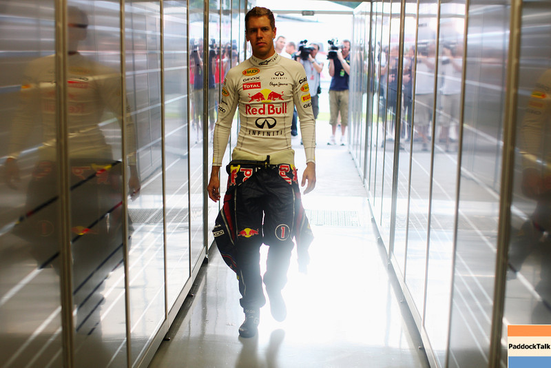 GEPA-23091199016 - FORMULA 1 - Grand Prix of Singapore. Image shows Sebastian Vettel (GER/ Red Bull Racing). Photo: Getty Images/ Mark Thompson - For editorial use only. Image is free of charge