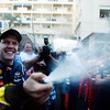 GEPA-29051199007 - FORMULA 1 - Grand Prix of Monaco. Image shows the rejoicing of Sebastian Vettel (GER/ Red Bull Racing). Photo: Mark Thompson/ Getty Images - For editorial use only. Image is free of charge
