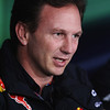 GEPA-14101199013 - FORMULA 1 - Grand Prix of South Korea, Korean International Circuit. Image shows team principal Christian Horner (Red Bull Racing). Keywords: press conference. Photo: Getty Images/ Mark Thompson - For editorial use only. Image is free of charge