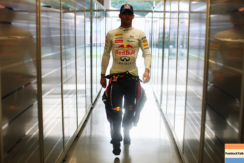 GEPA-23091199015 - FORMULA 1 - Grand Prix of Singapore. Image shows Mark Webber (AUS/ Red Bull Racing). Photo: Getty Images/ Mark Thompson - For editorial use only. Image is free of charge