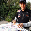 GEPA-14041199000 - FORMULA 1 - Grand Prix of China. Image shows Sebastian Vettel (GER/ Red Bull Racing). Keywords: autograph. Photo: Getty Images/ Mark Thompson - For editorial use only. Image is free of charge