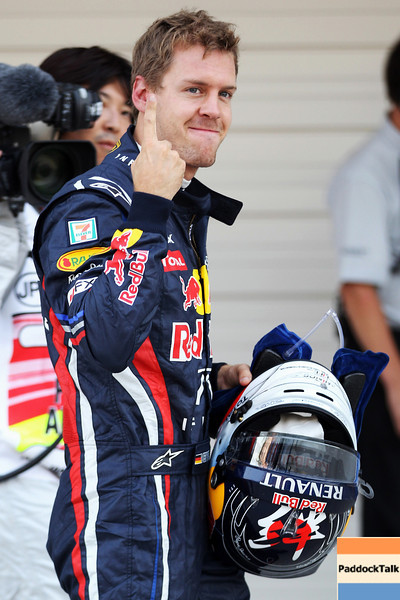 GEPA-08101199013 - FORMULA 1 - Grand Prix of Japan. Image shows Sebastian Vettel (GER/ Red Bull Racing). Photo: Getty Images/ Mark Thompson - For editorial use only. Image is free of charge