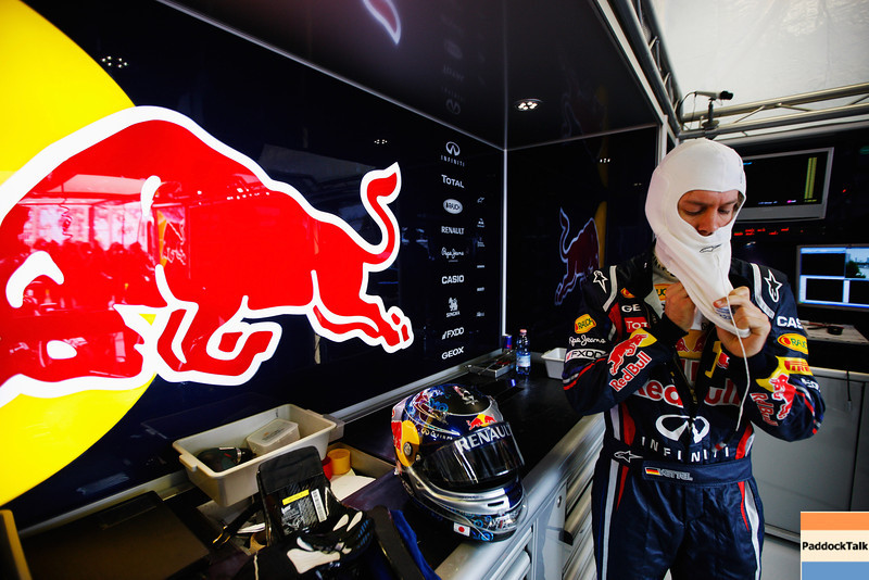 GEPA-25031199006 - FORMULA 1 - Grand Prix of Australia. Image shows Sebastian Vettel (GER/ Red Bull Racing). Photo: Getty Images/ Mark Thompson - For editorial use only. Image is free of charge