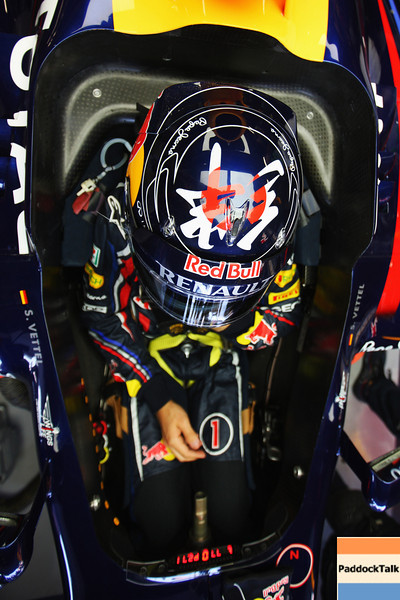 GEPA-09101199009 - FORMULA 1 - Grand Prix of Japan. Image shows Sebastian Vettel (GER/ Red Bull Racing). Photo: Getty Images/ Mark Thompson - For editorial use only. Image is free of charge