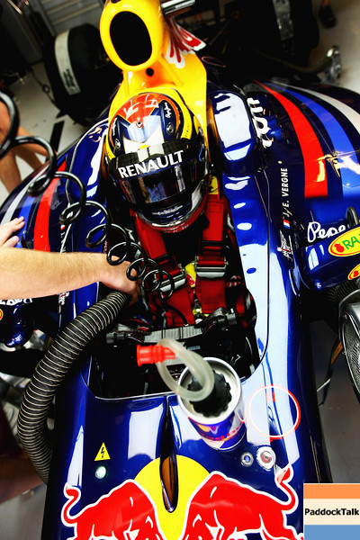 GEPA-15111199024 - FORMULA 1 - Testing in Abu Dhabi, Yas Marina Circuit, Young-Driver-Test. Image shows test driver Jean-Eric Vergne (FRA/ Red Bull Racing). Photo: Getty Images/ Andrew Hone - For editorial use only. Image is free of charge