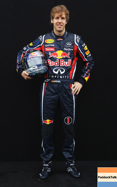 GEPA-24031199013 - FORMULA 1 - Grand Prix of Australia, preview, photo shoot. Image shows Sebastian Vettel (GER/ Red Bull Racing). Photo: Getty Images/ Robert Cianflone - For editorial use only. Image is free of charge