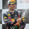 GEPA-17041199036 - FORMULA 1 - Grand Prix of China. Image shows Mark Webber (AUS/ Red Bull Racing). Keywords: podium, award ceremony, champagne. Photo: Getty Images/ Clive Mason - For editorial use only. Image is free of charge