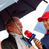 GEPA-15051181068 - SPIELBERG,AUSTRIA,15.MAY.11 - MOTORSPORT, FORMULA 1 - Open House Day Red Bull Ring, project Spielberg. Image shows motorsport consultant Helmut Marko (Red Bull) and Tom Walek (OE 3). Keywords: interview. Photo: GEPA pictures/ Christian Walgram - For editorial use only. Image is free of charge.
