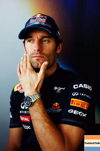 GEPA-23061199010 - FORMULA 1 - Grand Prix of Europe. Image shows Mark Webber (AUS/ Red Bull Racing). Photo: Paul Gilham/ Getty Images - For editorial use only. Image is free of charge