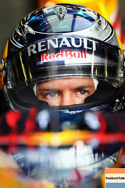 GEPA-27081199016 - FORMULA 1 - Grand Prix of Belgium, Spa Francorchamps. Image shows Sebastian Vettel (GER/ Red Bull Racing). Photo: Getty Images/ Mark Thompson - For editorial use only. Image is free of charge