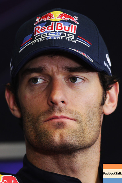 GEPA-23061199001 - FORMULA 1 - Grand Prix of Europe, press conference. Image shows Mark Webber (AUS/ Red Bull Racing). Photo: Paul Gilham/ Getty Images - For editorial use only. Image is free of charge