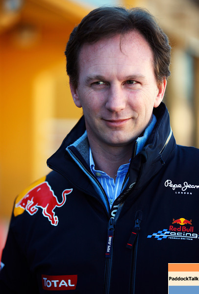 GEPA-03021199017 - FORMULA 1 - Testing in Valencia. Image shows team principal Christian Horner (Red Bull Racing). Photo: Mark Thompson/ Getty Images - For editorial use only. Image is free of charge