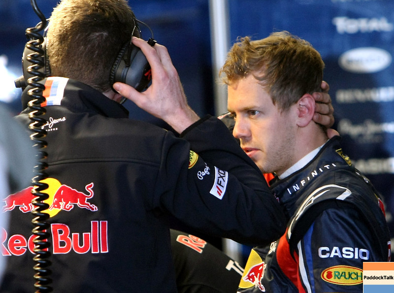 GEPA-14051181109 - SPIELBERG,AUSTRIA,14.MAY.11 - MOTORSPORT, FORMULA 1 - Media Day Red Bull Ring, project Spielberg. Image shows Sebastian Vettel (GER/ Red Bull Racing). Photo: GEPA pictures/ Christian Walgram - For editorial use only. Image is free of charge.