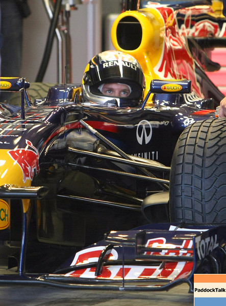 GEPA-14051181180 - SPIELBERG,AUSTRIA,14.MAY.11 - MOTORSPORT, FORMULA 1 - Media Day Red Bull Ring, project Spielberg. Image shows Sebastian Vettel (GER/ Red Bull Racing). Photo: GEPA pictures/ Christian Walgram - For editorial use only. Image is free of charge.