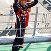 GEPA-11091199017 - FORMULA 1 - Grand Prix of Italy. Image shows the rejoicing of Sebastian Vettel (GER/ Red Bull Racing). Keywords: award ceremony. Photo: Getty Images/ Mark Thompson - For editorial use only. Image is free of charge