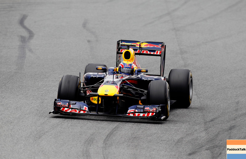 GEPA-20021199006 - FORMULA 1 - Testing in Barcelona, Circuit de Catalunya. Image shows Mark Webber (AUS/ Red Bull Racing). Photo: Mark Thompson/ Getty Images - For editorial use only. Image is free of charge