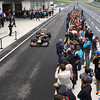 GEPA-14051134203 - SPIELBERG,AUSTRIA,14.MAY.11 - MOTORSPORT, FORMULA 1 - Media Day Red Bull Ring, project Spielberg. Image shows Sebastian Vettel (GER/ Red Bull Racing) and fans. Photo: GEPA pictures/ Markus Oberlaender - For editorial use only. Image is free of charge.