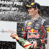 GEPA-17041199011 - FORMULA 1 - Grand Prix of China. Image shows Mark Webber (AUS/ Red Bull Racing). Photo: Getty Images/ Mark Thompson - For editorial use only. Image is free of charge