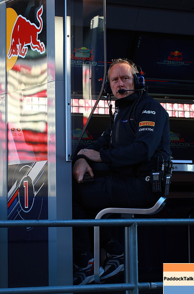 GEPA-18021199010 - FORMULA 1 - Testing in Barcelona, Circuit de Catalunya. Image shows team manager Jonathan Wheatley (Red Bull Racing). Photo: Vladimir Rys/ Getty Images - For editorial use only. Image is free of charge