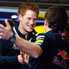 GEPA-10071199001 - FORMULA 1 - Grand Prix of Great Britain. Image shows Prince Harry and team principal Christian Horner (Red Bull Racing Team). Photo: Getty Images/ Clive Mason - For editorial use only. Image is free of charge