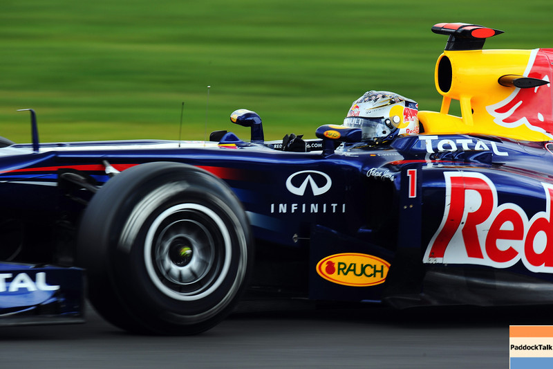 GEPA-09071199018 - FORMULA 1 - Grand Prix of Great Britain. Image shows Sebastian Vettel (GER/ Red Bull Racing). Photo: Getty Images/ Mark Thompson - For editorial use only. Image is free of charge